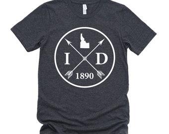 Homeland Tees Unisex Idaho Arrow T-Shirt
