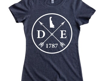 Homeland Tees Delaware Arrow Women's T-Shirt