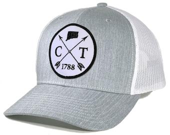 Homeland Tees Connecticut Arrow Patch Trucker Hat