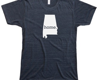 Homeland Tees Men's Alabama Home T-Shirt