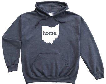 Homeland Tees Ohio Home Pullover Hoodie Sweatshirt