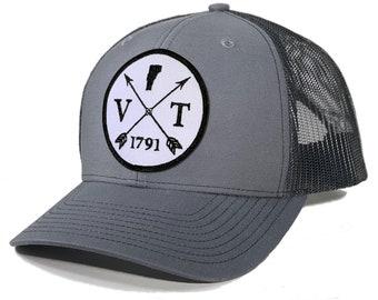 Homeland Tees Vermont Arrow Patch Trucker Hat