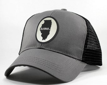 Homeland Tees Illinois Home Trucker Hat