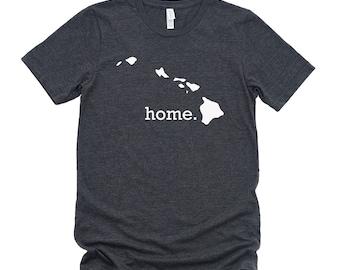Homeland Tees Hawaii Home State T-Shirt - Unisex