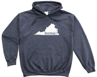 Homeland Tees Virginia Home Pullover Hoodie Sweatshirt