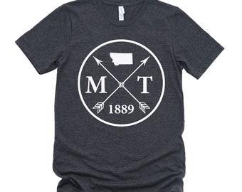 Homeland Tees Unisex Montana Arrow T-Shirt