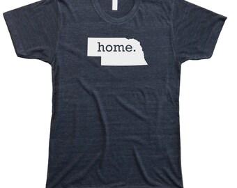 Homeland Tees Men's Nebraska Home T-Shirt