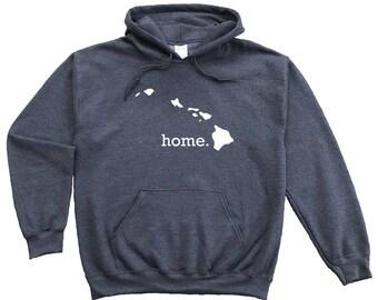 Homeland Tees Hawaii Home Pullover Hoodie Sweatshirt