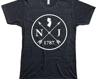 Homeland Tees Men's New Jersey Arrow T-Shirt