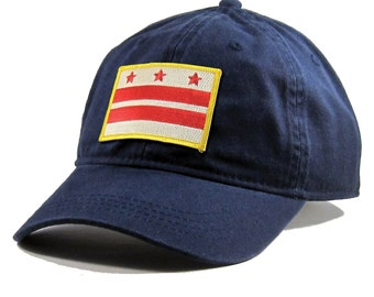 Homeland Tees Washington DC Flag Hat