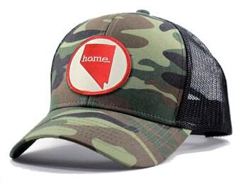 Homeland Tees Nevada Home Army Camo Trucker Hat