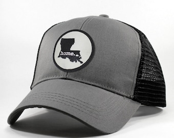 Homeland Tees Louisiana Home State Trucker Hat