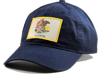 Homeland Tees Illinois Flag Hat
