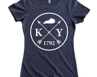Homeland Tees Kentucky Arrow Women's T-Shirt