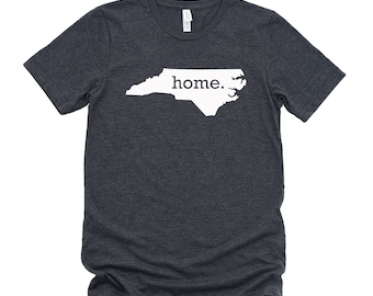 Homeland Tees North Carolina Home State T-Shirt - Unisex