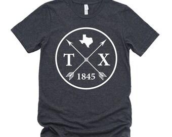 Homeland Tees Unisex Texas Arrow T-Shirt