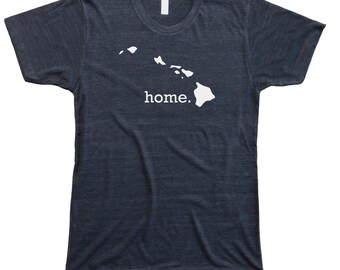 Homeland Tees Men's Hawaii Home T-Shirt
