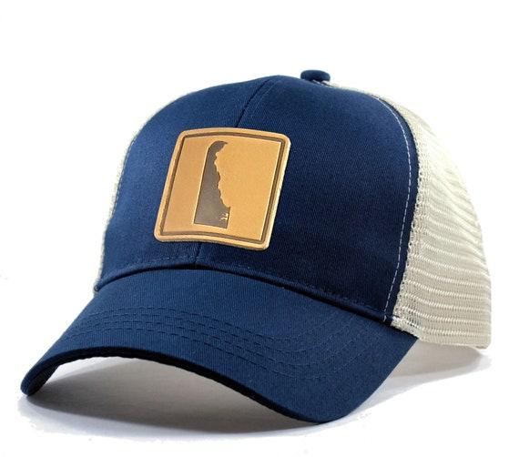 Homeland Tees Mens Delaware Arrow Patch Camo Trucker Hat