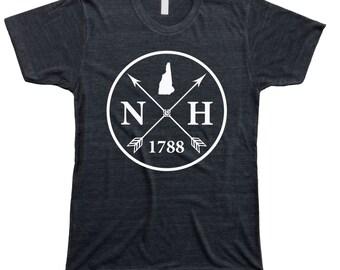 Homeland Tees Men's New Hampshire Arrow T-Shirt