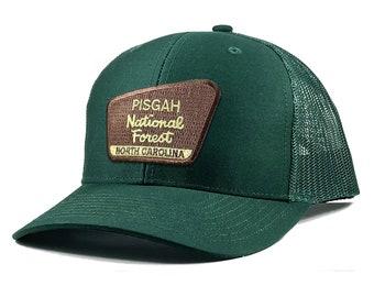 Homeland Tees Pisgah National Forest North Carolina Patch Trucker Hat
