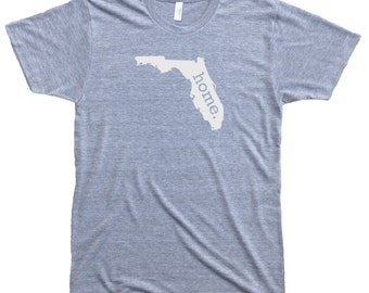 Homeland Tees Men's Florida Home T-Shirt