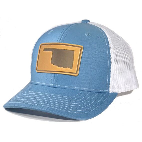 Homeland Tees Mens Illinois Leather Patch Camo Trucker Hat