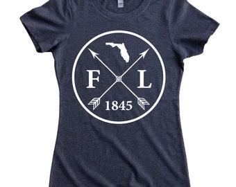 Homeland Tees Florida Arrow Women's T-Shirt