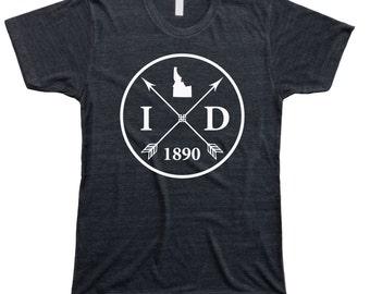 Homeland Tees Men's Idaho Arrow T-Shirt