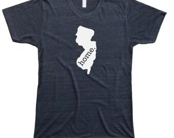 Homeland Tees Men's New Jersey Home T-Shirt