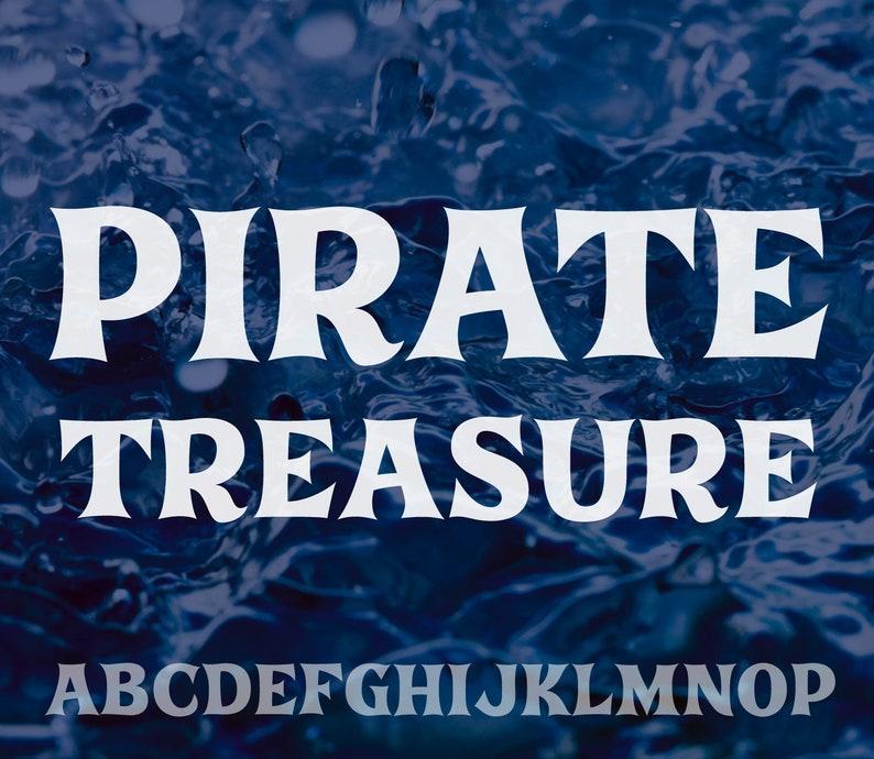 Pirate Treasure  Font  OTF image 0