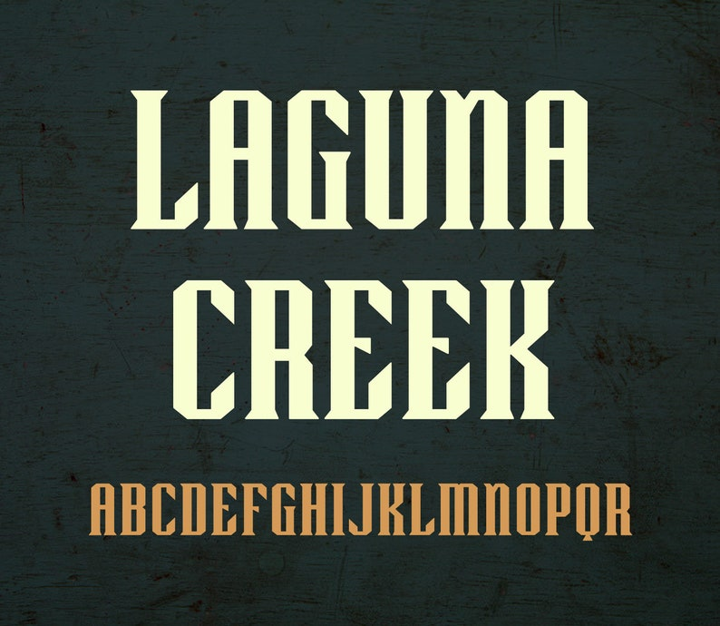 Laguna Creek font  OTF image 0