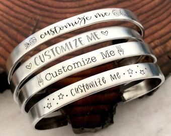 Customizable Cuff Bracelet