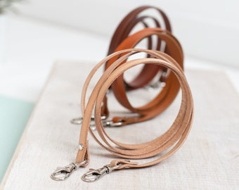 Crossbody strap,  leather crossbody strap, shoulder strap, leather purse strap replacement, bag strap, replacement strap, leather strap