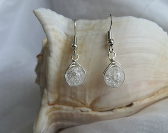 Classic Wire Wrapped Earrings