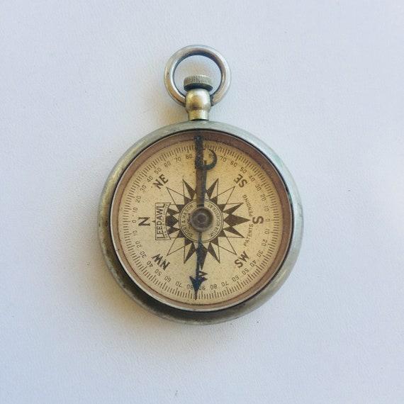 travail antique boussole compas leedawl patd dans lattente   Etsy 5e72764104d