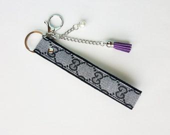 f92e6d312 Inspired Gucci key chain / key fob / bag charm
