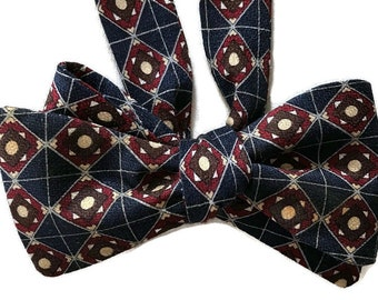 Silk Bow Tie for Men Picadilly