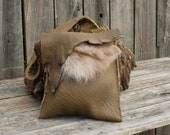 Buffalo leather purse, bison purse, Bison Bag, Buffalo Bison shoulder bag