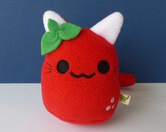 Small Fruit Kitty - Strawberry