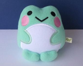 Kawaii Frog: Seafoam Green