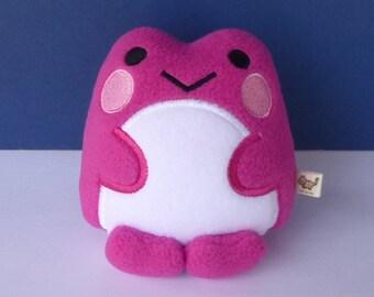 Kawaii Frog: Hot Pink Very Berry