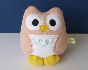 Kawaii Owl: Powder Pink