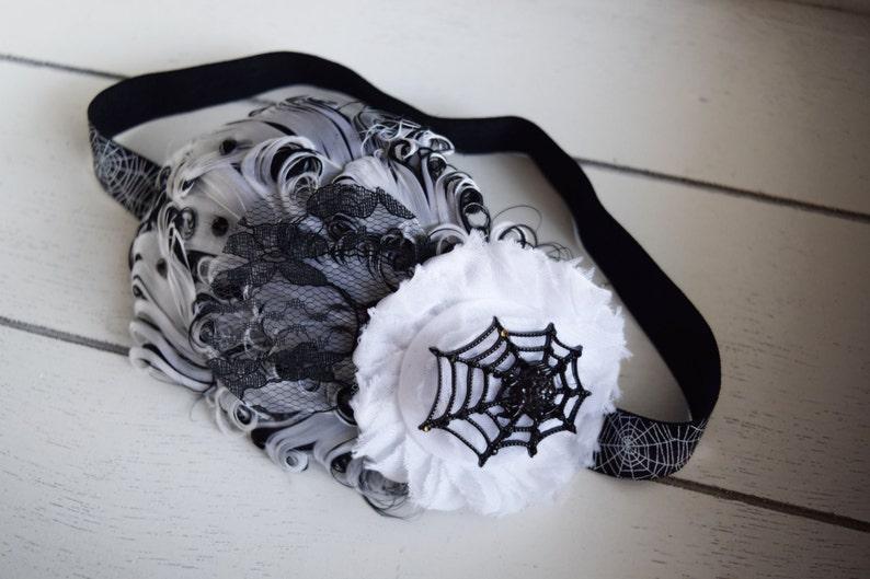 Spider Costume  Spider Headband  Halloween Headband  1920s image 0