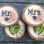 Bridal Shower Gift, Ring Bearer Boxes
