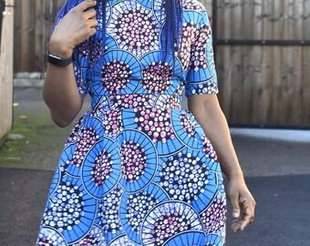 bc040a088f7 African Print Midi dress