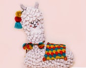 Made to Order - Alpaca Plush, Llama Pillow - Handmade by Vicu : Vicu Size 2