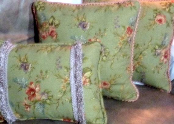 Sage Green Pillows Pillows Accent Pillows Sofa Pillows Etsy
