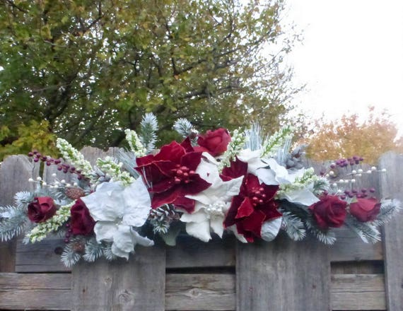 Winter Wedding Arch Decorations Wedding Arbor decorations | Etsy