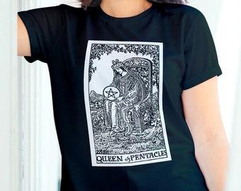 Unisex Jersey Short Sleeve Tee, Tarot Card Occult Wicca Boho Bohemian Tee Shirt, Bella Canvas 3001, Unisex Mens Womens Graphic Tee, XS-3XL