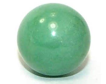 40mm Green Aventurine Sphere, Aventurine Gemstone Sphere 4cm Polished Specimen, Aventurine Quartz Sphere 40mm, Aventurine Gemstone Sphere